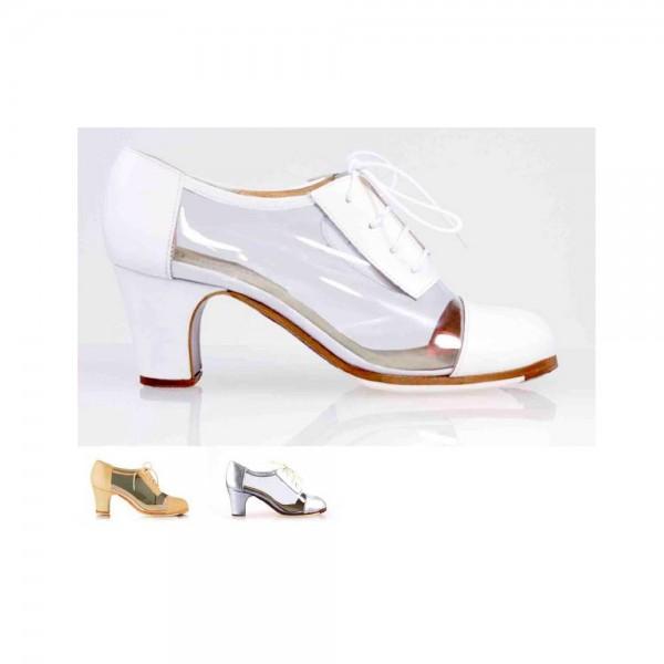 Zapato de flamenco. Modelo Agua