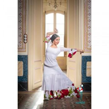Falda de ensayo de baile flamenco. Modelo Bodensee