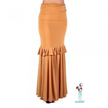 Falda de ensayo de baile flamenco. Modelo Lomero
