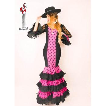 Traje de flamenca outlet modelo Gema talla 38