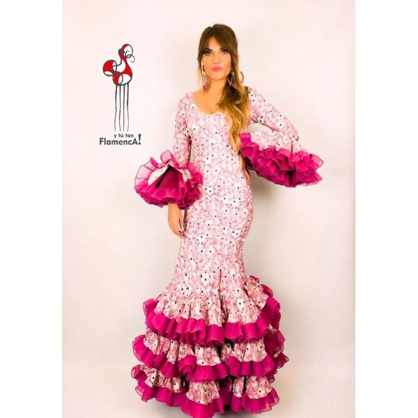 Traje de flamenca outlet modelo Jaleo Talla 38