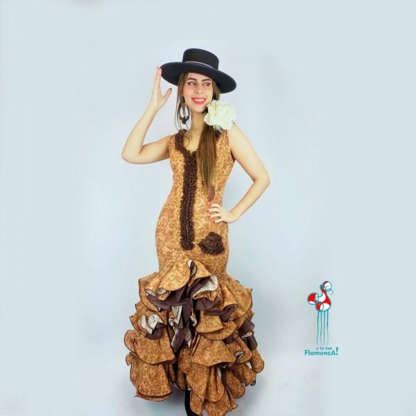 Traje de flamenca outlet modelo Úrsula talla 36
