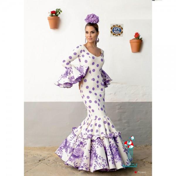 Traje de flamenca Picasso