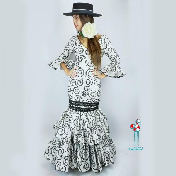 Traje de flamenca  Paola Talla 40